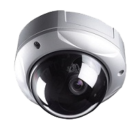 Concealed ceiling security camera.